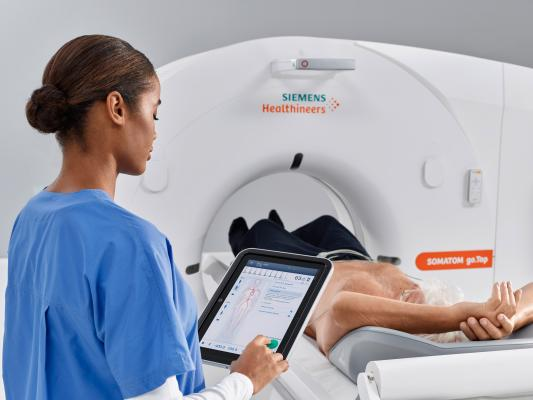 Latest additions to Somatom go. CT platform address advanced clinical fields and applications, including cardiology, CT-guided intervention and dual energy CT. How to lower radiation dose from Computed tomography scanners using ned technology.