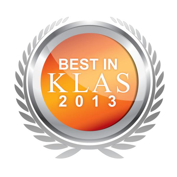Best in KLAS 2013 Software Service Cardiology