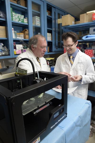 3-D printing, tracheal reconstruction, STS, Goldstein, Feinstein Institute
