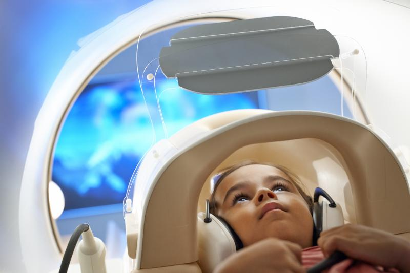 Pediatric MRI with the Philips Ingenia system.