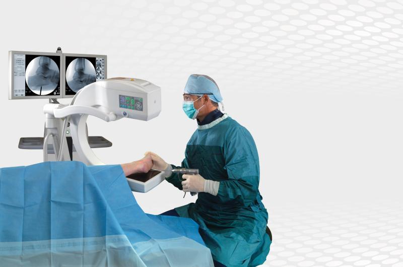 mobile c-arm, GE OEC Elite, foot surgery