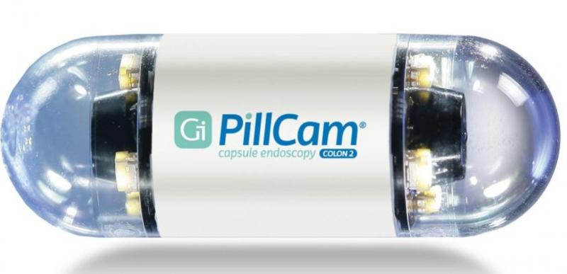 Given, Pillcamp, colonoscopy, Angiodysplasias, capsule Endoscopy, LVAD interference