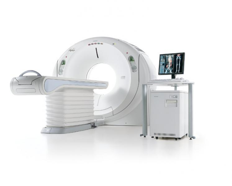 Toshiba Medical Systems NIH Clinical Study CT System