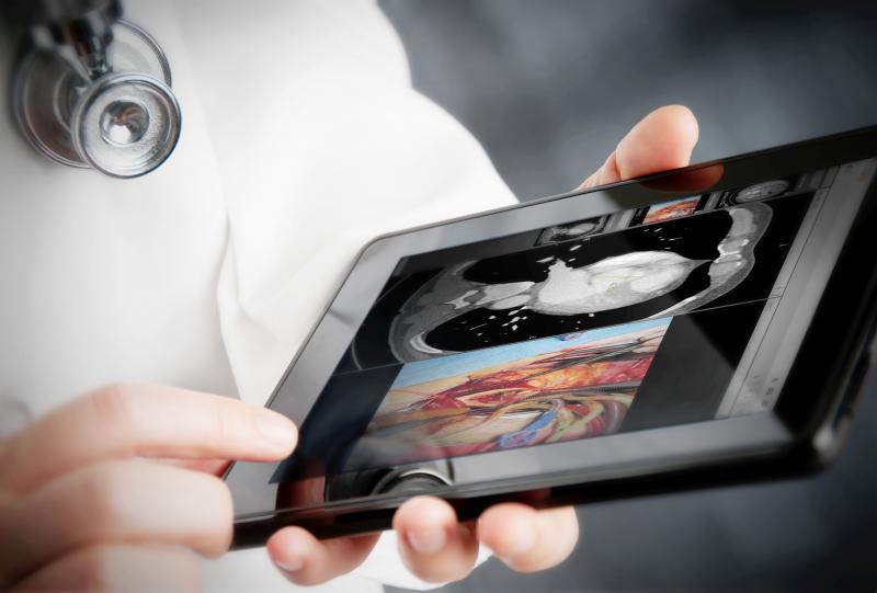 remote viewing systems allow mobile access for radiology imaging