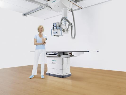 Siemens Healthcare Ysio Max DR System X-Ray RSNA 2014 Digital Radiography