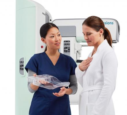Hologic Launches SmartCurve Breast Stabilization System