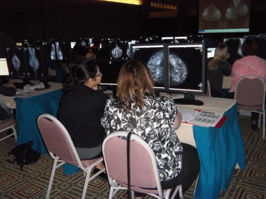 ACR, Breast Imaging Boot Camp, Saudi Arabia, May 2016, Middle East, radiologist workshop