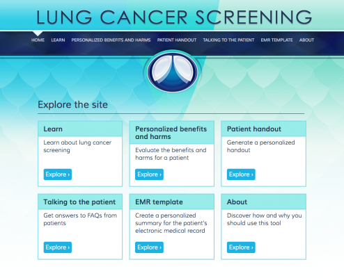 Research Shows How to Personalize Lung Cancer Screening Decisions ...