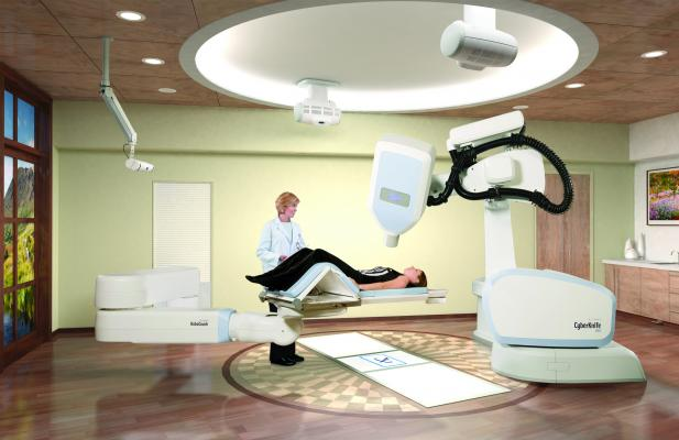 CyberKnife robotic radiosurgery system, version 10.5, Reno, upgrade