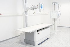 Agfa Healthcare, DR 400, RSNA 2015, floor mounted DR X-ray