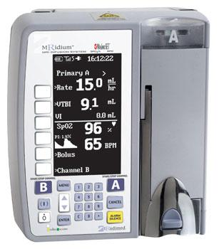 Iradimed, FDA clearance, MRIdium 3860+ IV infusion pump system, MRI-compatible,