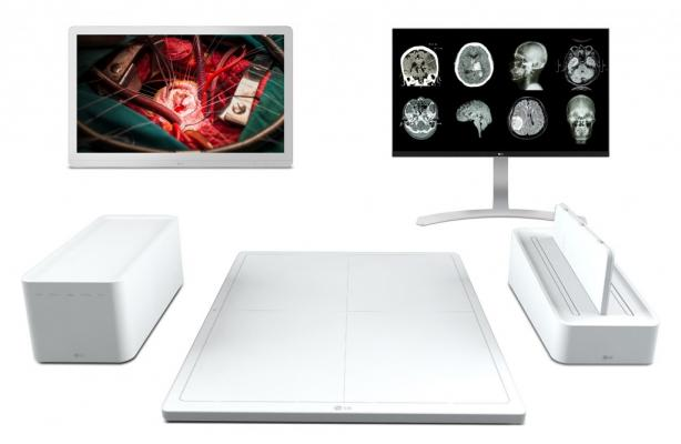 LG, clinical and surgical monitors, RSNA 2016, DXD