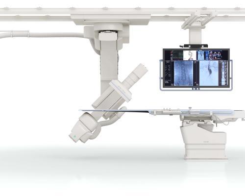 Infinix-i Sky +, RSNA 2016, Toshiba, angiography systems