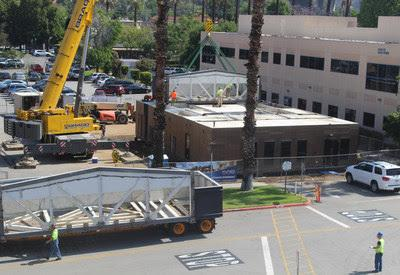 Glendale Adventist Medical Center Opens Temporary Radiotherapy Vault