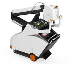 Carestream Showing New Mobile X-ray System With Carbon Nanotube Technology at AHRA