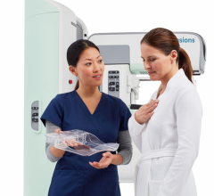 SmartCurve technology, a revolutionary breast imaging technology designed specifically for the curvature of the female breast to provide every woman with a more comfortable and accurate mammogram.