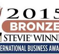 2015 bronze stevie winner
