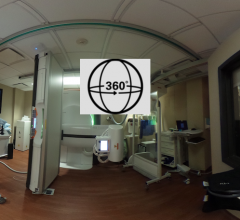 360 View of a DRX Excel Plus Radiographic Fluoroscopy Room Installation
