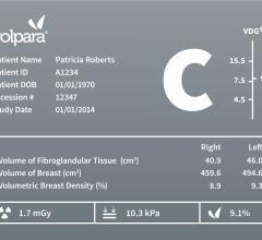VolparaDensity 3.1, breast density assessment, FDA approval, BI-RADS Fifth Edition, RSNA 2015