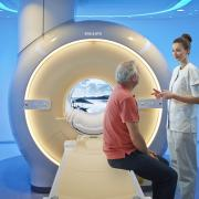 Philips Scan Wise MRI can speed MRI workflows. The scanner is a Philips Ingenia 1.5T MRI system.