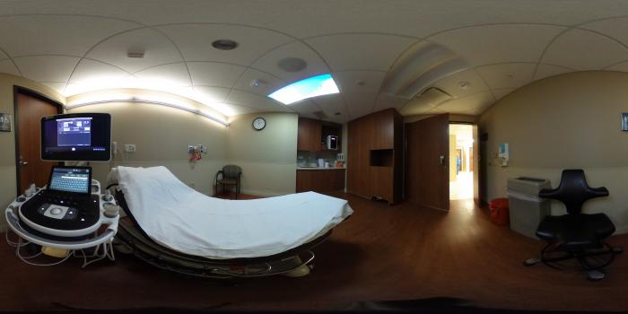 360 View inside an Ultrasound Room at Northwestern Medicine Central DuPage Hospital